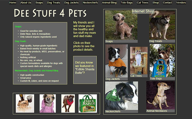 link to website about Pet Supply in Redding CA